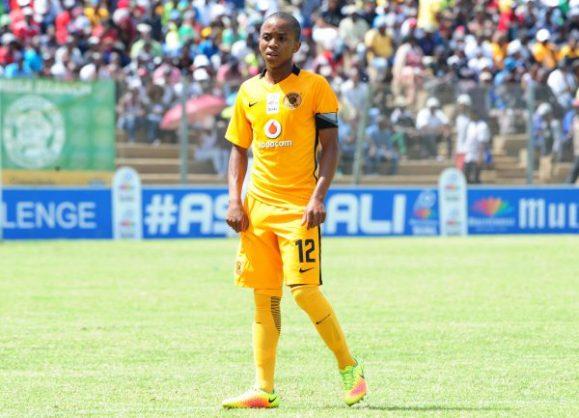 Nkosingiphile Ngcobo of Kaizer Chiefs (Aubrey Kgakatsi/Backpagepix)