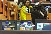 Nkoana-Mashabane caught sleeping in parliament again