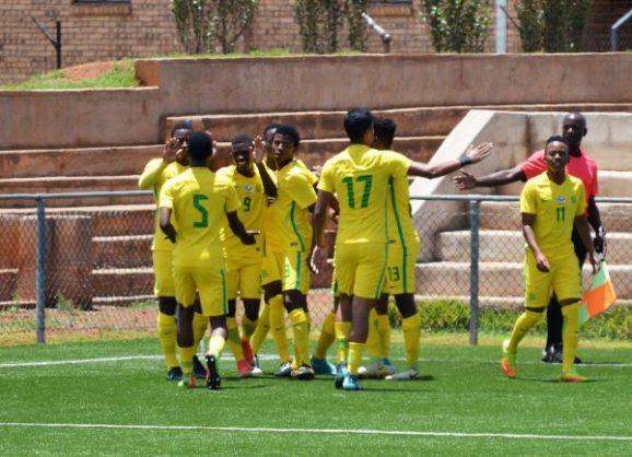 Amajita celebrate a goal