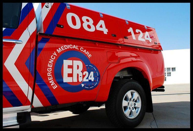 ER24 respond to dog attack. File image