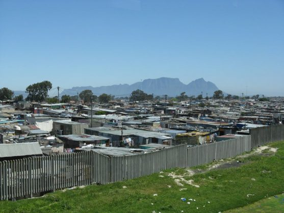 Informal settlements in Cape Town only use 4.7% of the city's water. Flickr/Blackwych