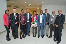 South African Space Council delegation in Germany, 2013. DTI.