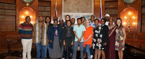 Eastern Cape delegation at South Africa House, UK in November 2017.