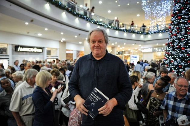 Jacques Pauw poses for a picture at Brooklyn Mall during the launch of his book, The President's Keepers, 11 November 2017, Pretoria. Picture: Jacques Nelles