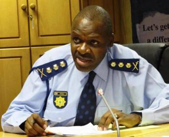 National police commissioner Khehla John Sitole. PHOTO: ANA