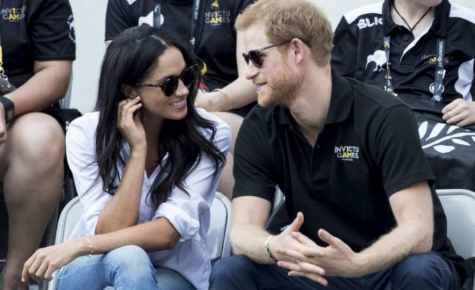 Megan Markle and Prince Harry.