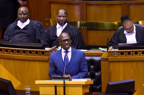The question remains how credible finance minister Malusi Gigaba's GDP forecasts in October's mid-term budget were. Picture: GCIS
