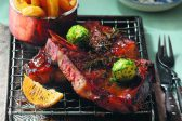 Recipe: Prime-rib steak and parmesan-dusted chips