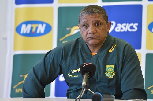 A pensive Allister Coetzee. Photo: Aurelien Meunier/Gallo Images.