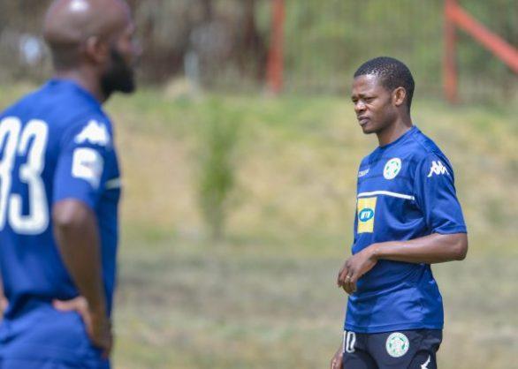 Ndumiso Mabena during the Bloemfontein Celtic training at Siwelele Park (Photo by Frikkie Kapp/Gallo Images)