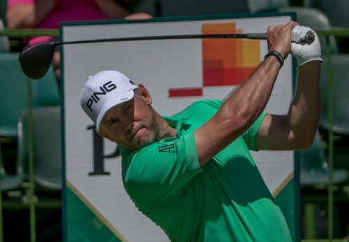 Lee Westwood of England during day 2 of the 2017 Nedbank Golf Challenge at The Gary Player Country Club on November 10, 2017 in Sun City, South Africa. (Photo by Gordon Arons/Gallo Images)