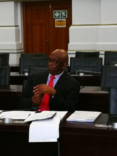 Former Eskom board chairman Zola Tsotsi testified in the inquiry into allegations of state capture at the South Africa power utility. PHOTO: Chantall Presence / ANA