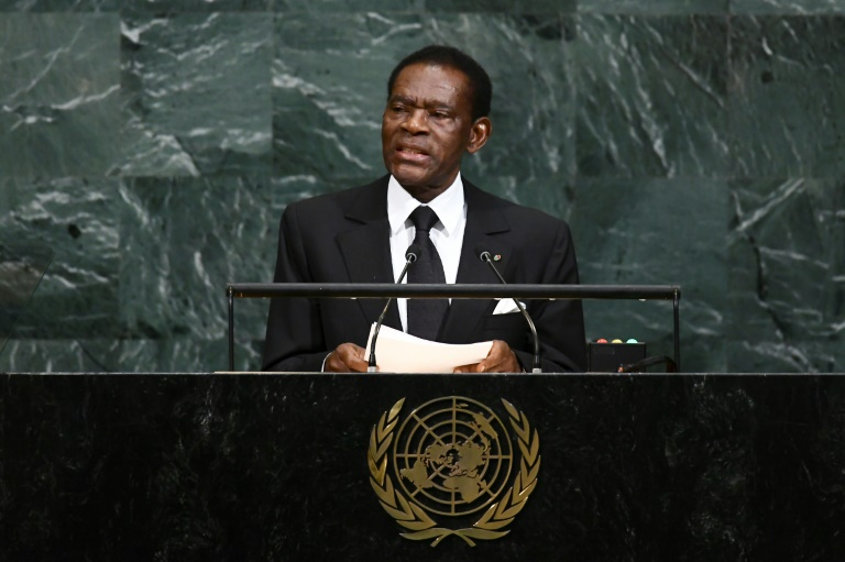 Equatorial Guinea's President Teodoro Obiang Nguema is Africa's longest serving leader