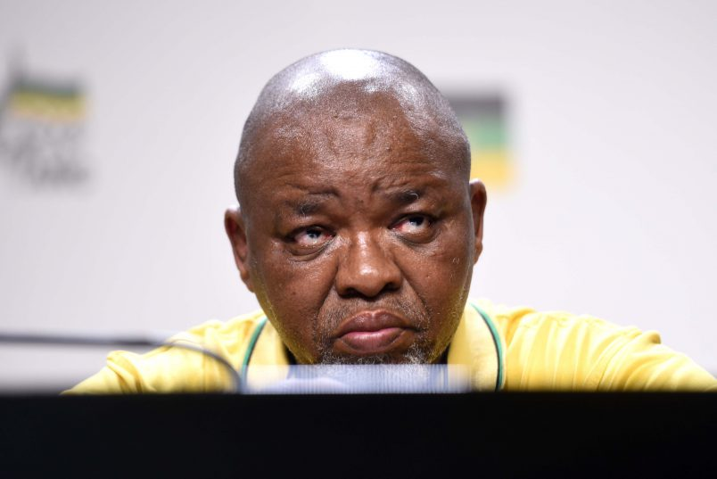 ANC national chairperson Gwede Mantashe. Picture: Tracy Lee Stark