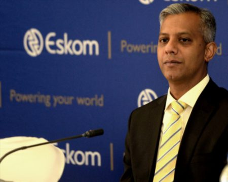 Former Eskom chief financial officer Anoj Singh. Picture: Gallo Images