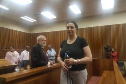 Sentencing of convicted racist Momberg postponed to January
