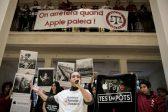 Activists occupy Paris Apple store over EU tax dispute