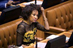 Lindiwe Sisulu slams Maimane for 'taking credit' for govt changes