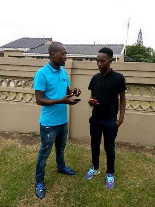 Close brothers Sifiso Prince Manqele (32) and Kwazi Mthokozisi Manqele (22) died on Sunday morning