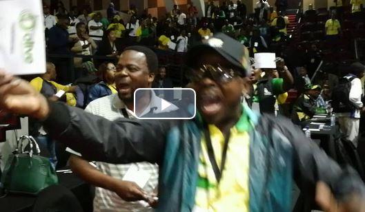 ANC members at the KZN meeting. Screenshot: ANA