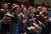 EFF's Gardee shades Steenhuisen as he celebrates another academic achievement