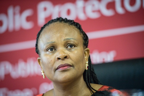 Mkhwebane finds mass misappropriation of funds for Madiba funeral
