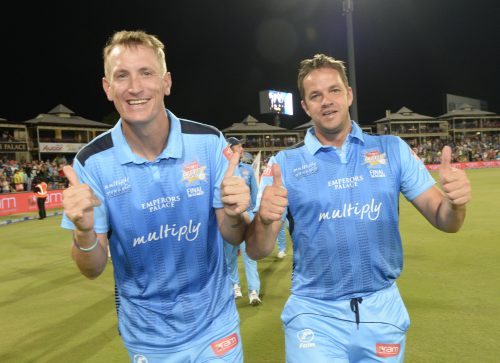 Chris Morris made Titans skipper Albie Morkel as very happy man. (Photo by Lee Warren/Gallo Images)