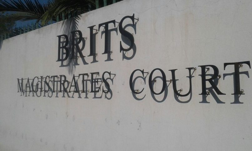 The outside of the Brits Magistrate's Court. FILE PHOTO: ANA Reporter