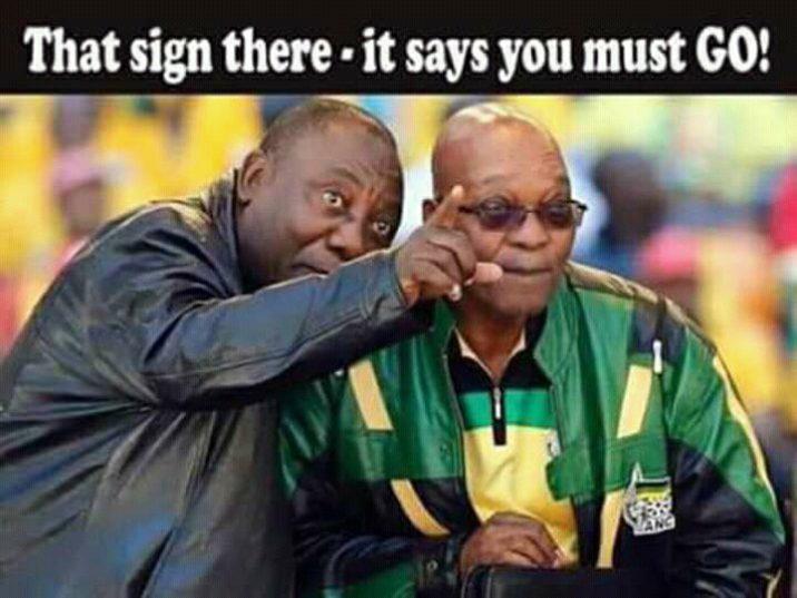 Anti-Zuma Meme. Facebook.