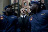 Oscar Pistorius injured in prison brawl over phone