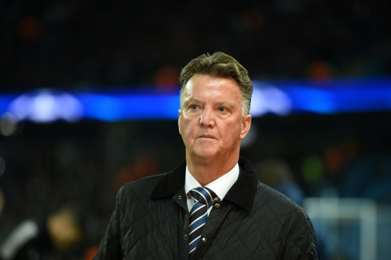 Louis van Gaal coached Manchester United from 2014-2016