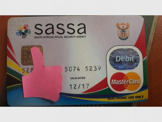 EARLY BIRD: Sassa says happy festive season with early payments.