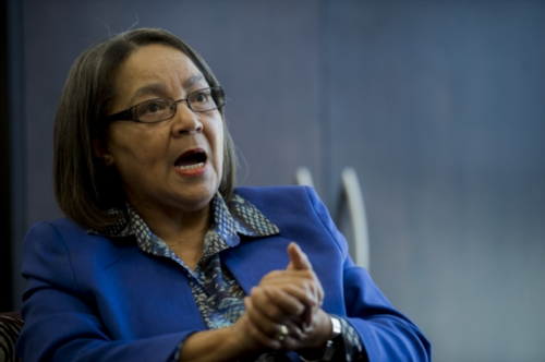 City of Cape Town Patricia de Lille during an interview on July 22, 2016 in Cape Town, South Africa. (Photo by Gallo Images / City Press / Conrad Bornman)