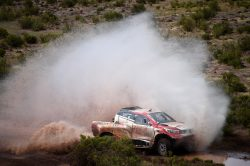 Time running out for  Giniel and Toyota in Dakar chase