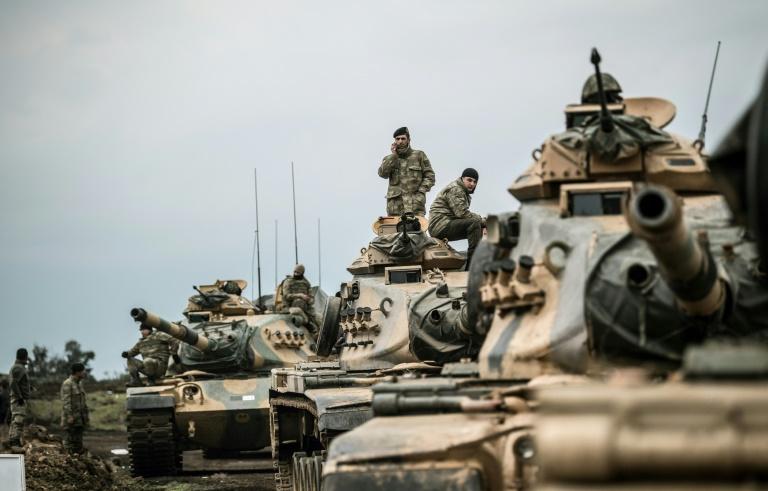 Operation in Syria's Afrin started: Erdogan