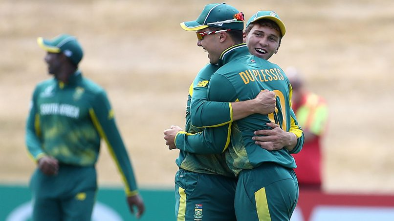 The Baby Proteas had a decent World Cup. Photo: ICC.