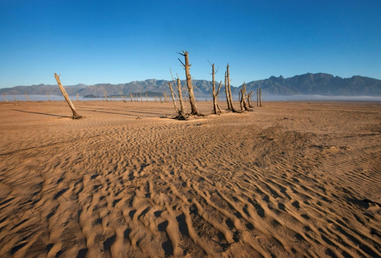 The planet's record-breaking hot weather has caused severe drought in places like here in South Africa.