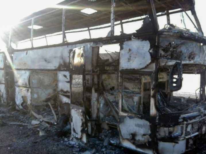 Kazakhstan bus fire kills 52, five manage to escape: Kazakh Emergency Ministry