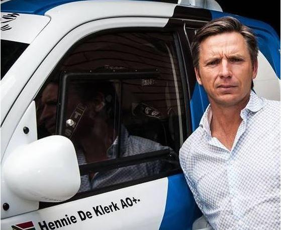 Hennie de Klerk. Photo: Facebook.