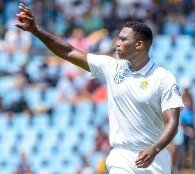 Lungi Ngidi has already shown the cricket world that he's a thinking bowler. Photo: Sydney Seshibedi/Gallo Images.