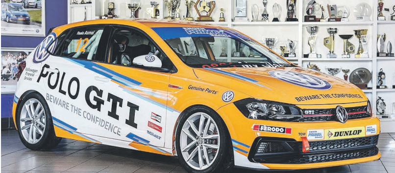 ALL NEW. The new Volkswagen Polo Cup, to be raced as part of the Extreme Festival Series this year. A road-going version will be available in the second half of 2018.
