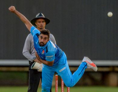 On current form, Titans spinner Tabraiz Shamsi is arguably ahead of Imran Tahir in the Proteas side. He's the leading wicket-taker in the Momentum One-day Cup. Photo: Gallo Images.