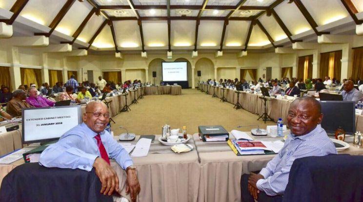 Cabinet Meeting In Pretoria As Sona Preparation Heats Up The Citizen