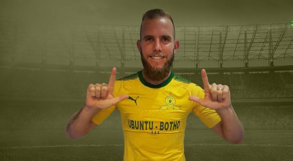 New Mamelodi Sundowns signing Jeremy Brockie (Pic Sundowns)