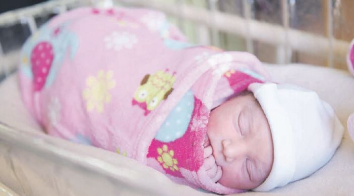 Emmergene Soliman was born at Life Wilgeheuwel Hospital in Roodepoort at 9.15am yesterday to happy parents Sam and Brigene.