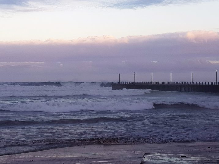 Girl, 8, drowns after she is washed off Durban pier