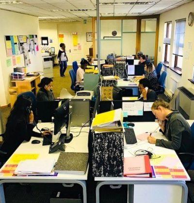 SADAG call centre. Photo: SADAG
