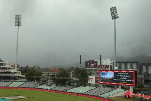 A gloomy Newlands.  (Photo by Petri Oeschger/Gallo Images)
