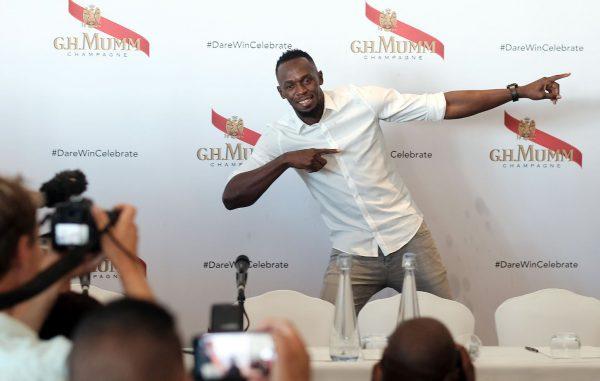 Retired Jamaican sprinter Usain Bolt. Photo ANA