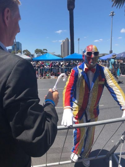 The City of Cape Town's Mayoral Committee Member for Safety and Security JP Smith officially opened the Cape Town Street Parade on Tuesday. PHOTO: Supplied by City of Cape Town